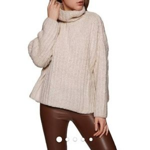 Free People 'Pearl' Fluffy Knit Sweater NWT